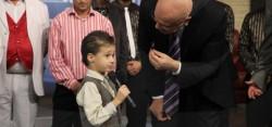 """Малкият победител в """"Разсмей Слави"""" със своя рубрика в шоуто"""
