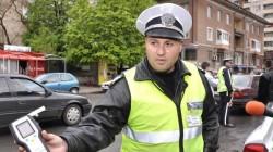 Млад пиян шофьор се нацепи в бордюр