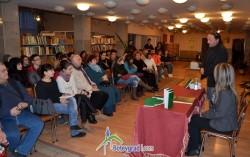 """Романът """"Съкровището на Шишман"""" бе представен в градската библиотека"""