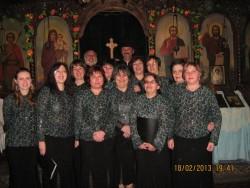 Църковният хор участва в традиционното поклонение в памет на Левски в Златица
