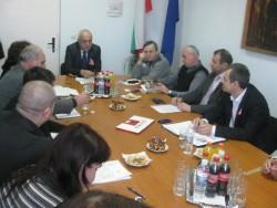 Тристранна среща e проведена в Общината на 1 март