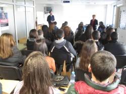 """Възпитаници на ПГТМ """"Христо Ботев"""" участваха в работна среща """"Реален бизнес – училище"""""""