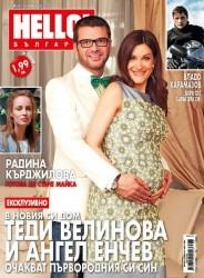 Вижте първата снимка на бременната Теди Велинова