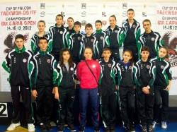 Вяра Тошева и Николай Петков с бронз от Европейското по таекуондо ITF