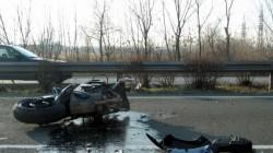 Моторист загина при тежка катастрофа във Велико Търново