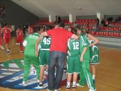 Кадетките победиха Дунав Русе, ще играят за петото място