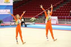 Двойката ни по акробатика с 3 сребърни медала