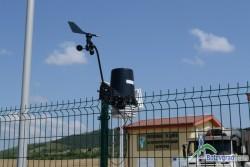 Метеорологична станция е монтирана на Регионалното депо