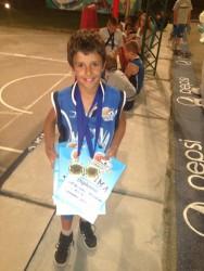 7-годишният Александър Гавалюгов с 3 награди от кампа в Златибор