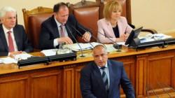 Борисов към Станишев: Сложихте Пламен Орешарски за премиер, за да ви бере срама