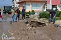 """Отстранена е водопроводната авария на ул. """"Зелинград"""""""