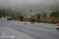 """Откритият на магистрала """"Хемус"""" труп е транспортиран за аутопсия в столицата"""