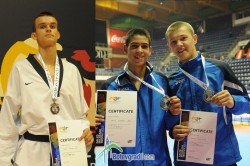 3 сребърни медала за Сунг Ри на турнира Галеб в Белград