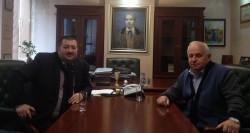 Емил Иванов проведе работна среща с кмета на Ботевград Георги Георгиев