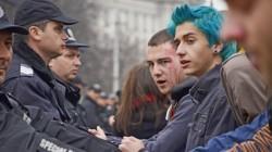Ранобудните излязоха на протест срещу промените в Закона за МВР