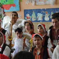 Коледен спектакъл подготвиха децата и младежите от Дома в с. Видраре