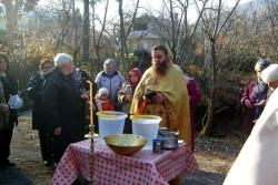 Ритуалът по изваждане на Богоявленския кръст бе изпълнен в Зелин