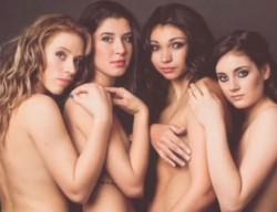 Момичета на ЦСКА голи за еротичен календар