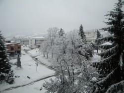 Областният щаб предприе мерки за координация на институциите във връзка със зимната обстановка