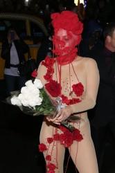 Лейди Гага по прашки на рождения си ден