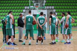 Балкан с първа тренировка в Арена Ботевград