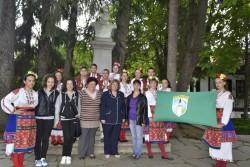 """Ученици от ПГТМ """"Христо Ботев"""" участваха в тържествата на 2 юни в Калофер"""