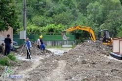 Кметът Г.Георгиев: Няма проблеми с финансирането на канализацията във Врачеш и колектора на Трудовец