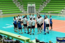 Националите ни с първа тренировка в Арена Ботевград