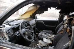 Служители на РУП - Етрополе разследват пожар на лек автомобил