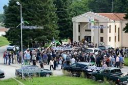 Изключителни мерки за сигурност на погребението на Семко Семков