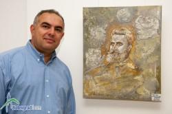 Димитър Евстатиев откри изложба навръх рождения си ден