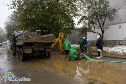 Две аварии на водопровода