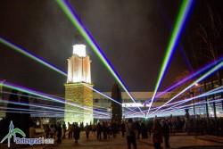 Лазерно шоу за празника на Ботевград