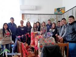 """В ПГТМ """"Христо Ботев"""" се  проведе благотворителна коледна кампания """"Дарена надежда"""""""