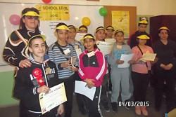 """ОУ """"Васил Левски"""" участва в състезанието Spelling Bee 2015"""