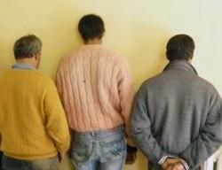 Трима мъже са задържани във връзка с извършен грабеж