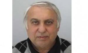 ОДМВР- София издирва Недялко Станчов Василев на 63 години от с. Петърч