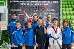8 медала за Сунг Ри в Арена Ботевград