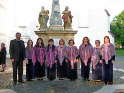 Църковният хор с диригент Милена Спасова изнесе три концерта в Унгария