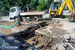 Водопроводна авария остави без вода част от Ботевград
