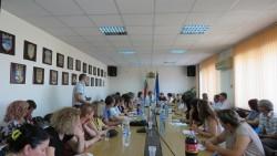 В Областната администрация се проведе информационна среща в рамките на разяснителната кампания за местните избори