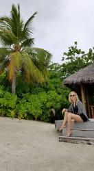 Гала заголи крака на Малдивите