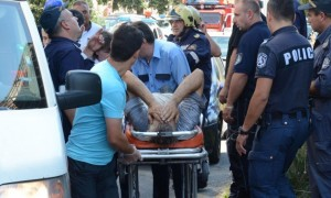 "Платформа падна и затрупа хора на ""Цариградско шосе"""
