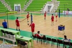 Волейболните национали с отворена за фенове двустранна игра в Арена Ботевград