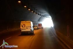 """На 21 и 22 декември през светлата част на денонощието движението между тунелите """"Топли дол"""" и """"Ечемишка"""" ще се осъществява в платното за Варна"""