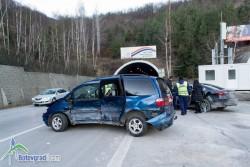 Двама врачежани пострадаха при катастрофа на магистралата (допълнена)