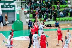 Балкан победи Лукойл Академик след отлично второ полувреме