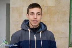 Николай Начев бронзов медалист от шампионата на България в зала
