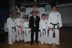 С медали от Държавното първенство по Таекуон-до ИТФ в Панагюрище