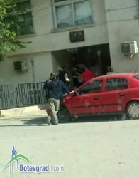 Нагъл обир във Врачеш – опитаха да задигнат касетата от банкомат в сградата на кметството /допълнена/